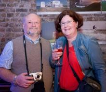 Brian O'Loughlin and Diana Thurmann