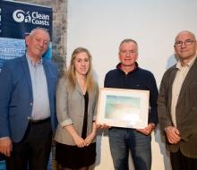 Winner - Underwater category Alan Cranston